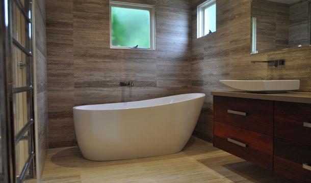 Natural Beauty - With a love of natural materials, the owners of this amazing bathroom were always going to create something really unique.