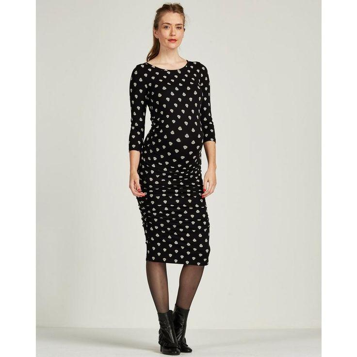 Stijlvolle positiemode jurk van Isabella Oliver. #wehkamp #IsabellaOliver #isabellaoliver #positiemode #positiekleding #zwangerschapskleding #zwangerschapsmode #zwanger #zwangerschapsjurk