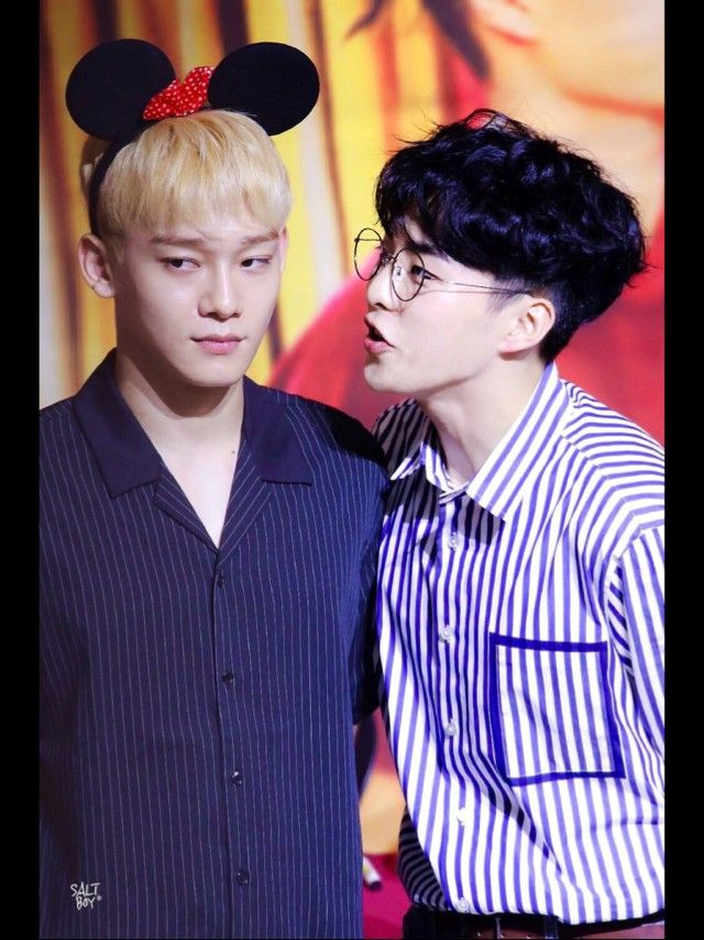 12 best XiuChen images on Pinterest Exo couple, Chen and Parents