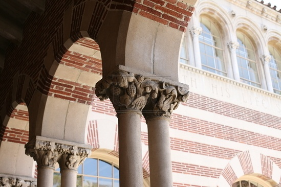 Detail, Mudd Hall - USC College, School of Philosophy