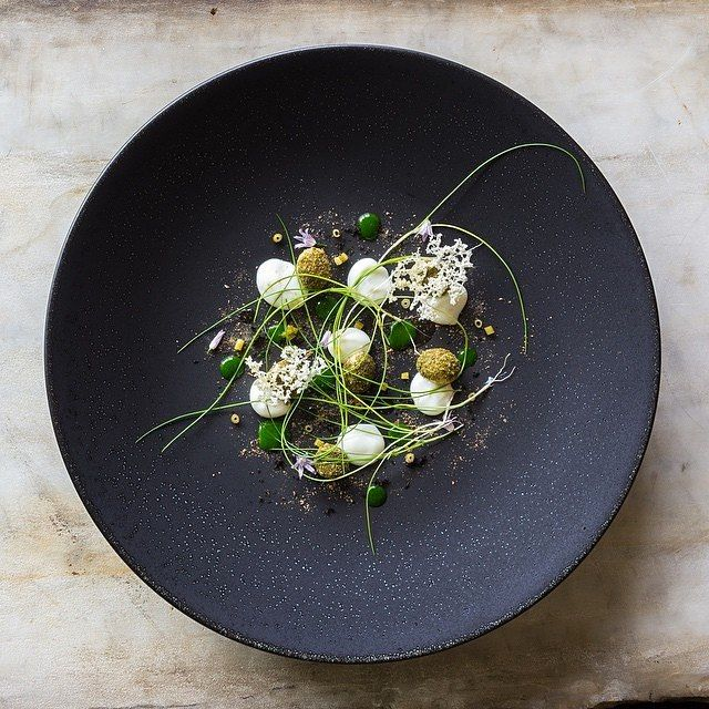 Cod, herbed new potato, pickled dill, and young chive by @longovenrva #TheArtOfPlating