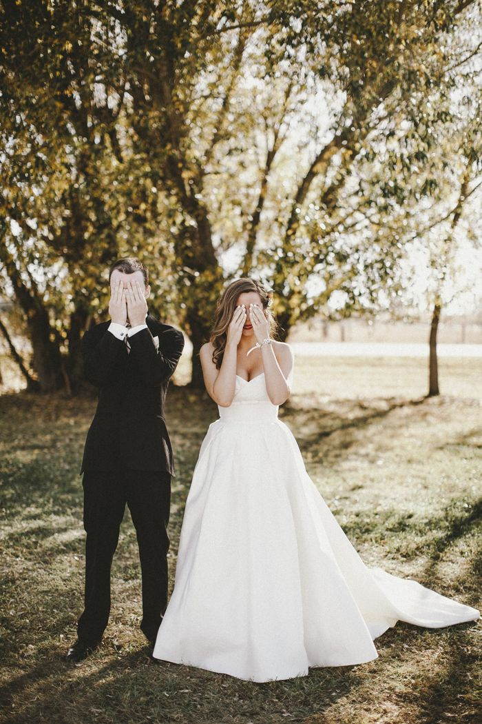 Wedding Superstitions | First Look | Glasser Images | As Seen on TodaysBride.com