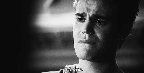 When we wanted to give Stefan the biggest hug ever and take all of his sadness away. CUTEST MOMENT EVER