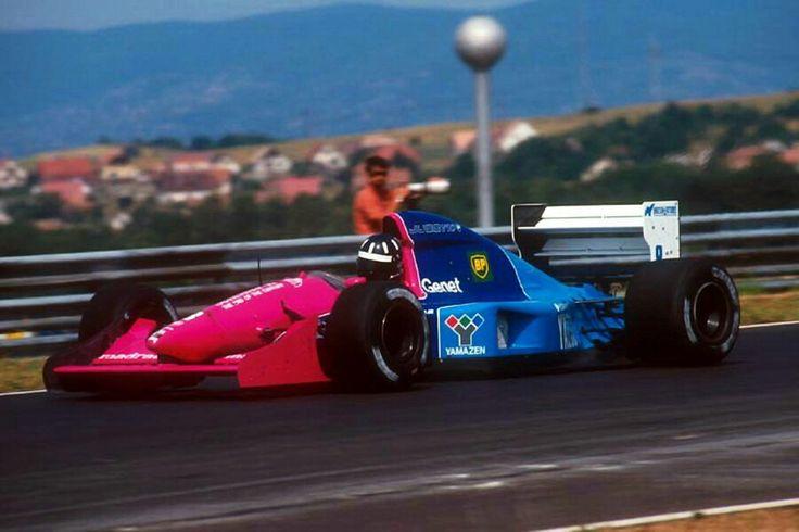 #8 Damon Hill...Motor Racing Developments Ltd...Brabham BT60B...Motor Judd GV V10 3.5...GP Hungria 1992
