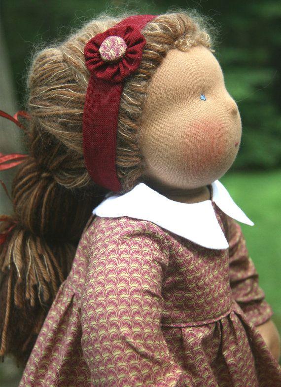 Adorable....Custom Organic Waldorf Doll