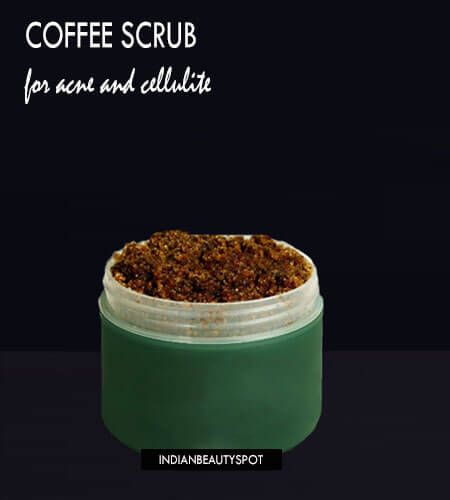 Coffee is best known to treat acne as it deep exfoliates the skin. It also helps to stimulate the circulation...