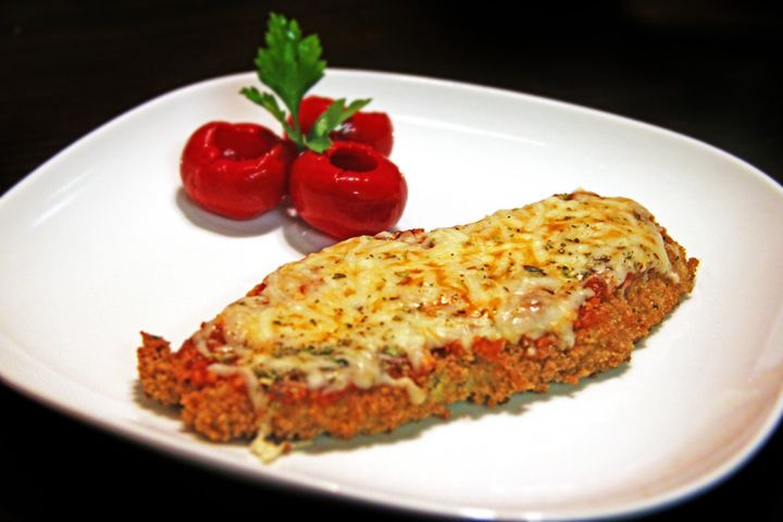 Low Fat Chicken Parm. | Eat, Drink, & Be Merry | Pinterest
