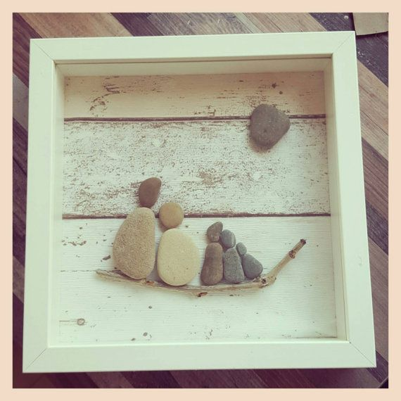 A simply stunning pebble art picture....a by justSparklesAndBling