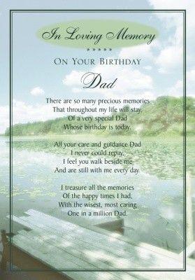 Happy Birthday In Heaven Daddy xoxo