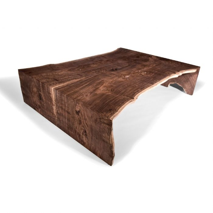 1000 images about live edge waterfall tables on for Couchtisch holz modern