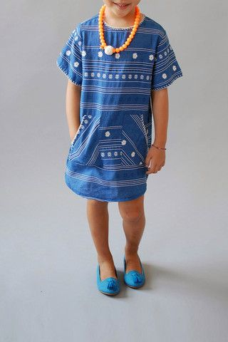 the denim dress | gellia