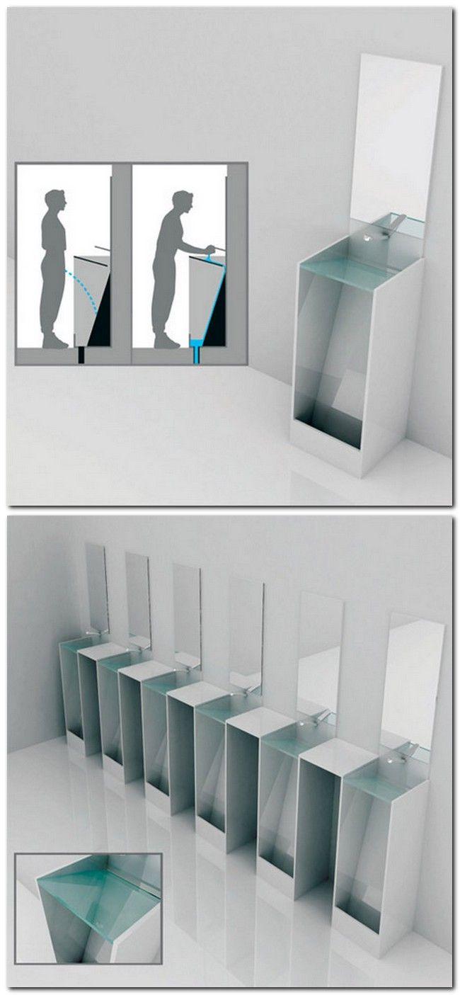 Eco Urinal. Designer: Yeongwoo Kim
