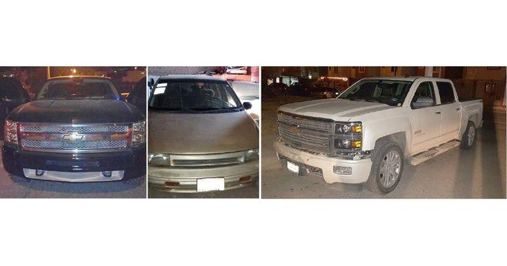 Policías de la Agencia Estatal de Investigación recuperaron tres camionetas robadas   El Puntero