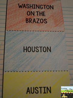 My Republic of Texas Notebook