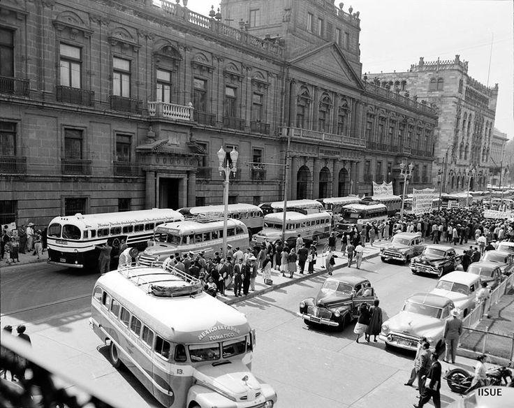 Calle Tacuba - 1950