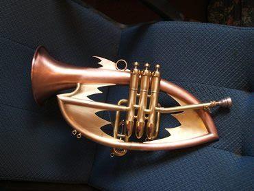 The James bond trumpet