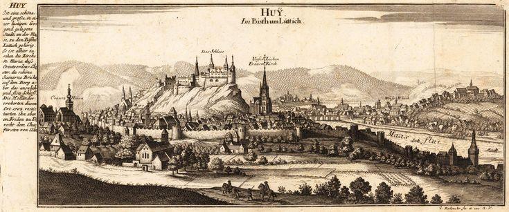 Chateau de Chokier - Laurent MELART - Histoire de la ville et chasteau de Huy et de ses antiquitez avec une chronologie de ses Comtes & Evesques