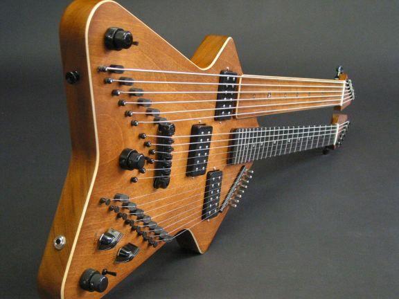 STRANGE GUITAR WEEK Zither-Guitar by Worland Guitars#rareandstrangeinstruments