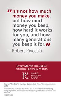WFG Opportunity  » Financial Literacy Month