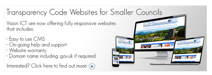 Website Design UK, Parish Website Design, Council Website Design, Transparency Code