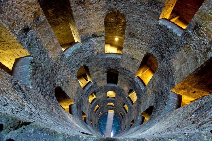 Il pozzo di San Patrizio Orvieto Umbria.