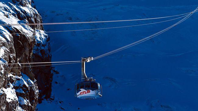 Titlis-Rotair - A Revolving Gondola Lift - Switzerland Tourism