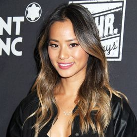 Hair Envy Alert! We're Obsessed with Jamie Chung's Ombre Highlights | Asian ombre hair, Asian hair highlights, Jamie chung hair
