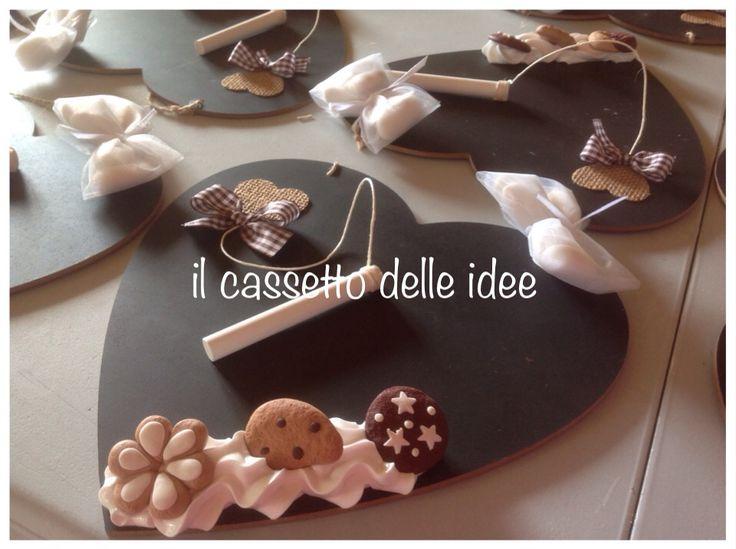 decorazione di biscotti in  fimo
