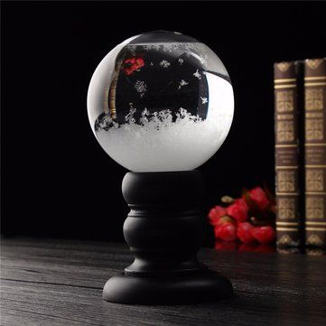 Weather Forecast Crystal Storm Glass Creative Home Decor Christmas Gift Sale - Banggood.com