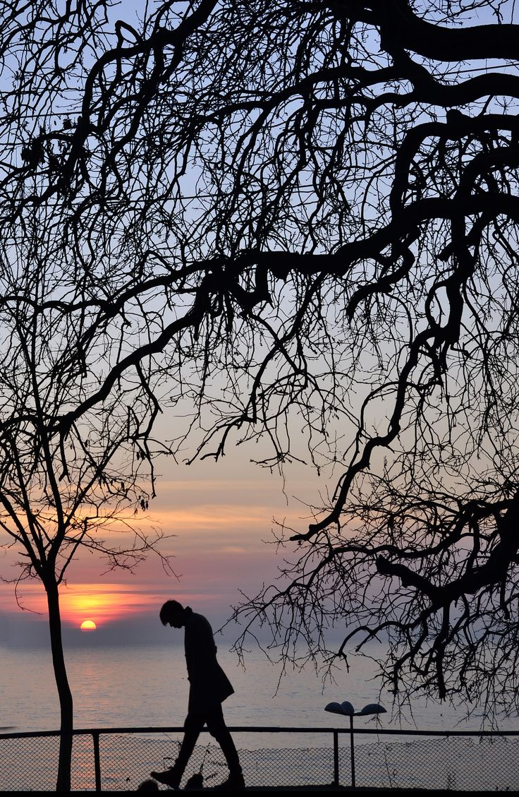 Winter Sunset in Kadikoy, Istanbul, Marmara_ Turkey