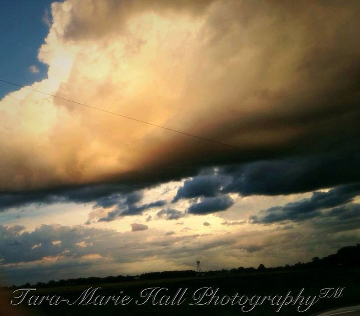 A photo I took after a storm in Portage la Prairie, mb. Appeared on CTV.