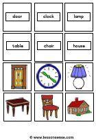 memory kaarten om uit te printen van diverse onderwerpen »LessonSense.com