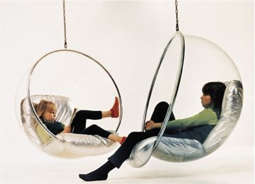 1000 ideas about bubble chair on pinterest chairs ball chair and egg chair - Fauteuil ballon eero aarnio ...