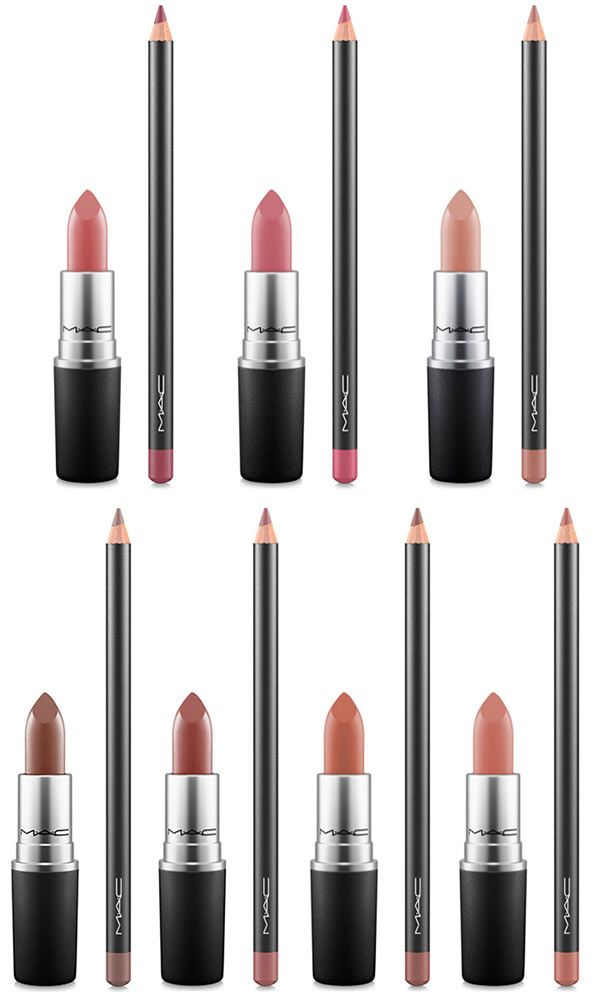 MAC Nude Lip Kits: MAC Lipstick and Lip Pencil Duos for Spring 2017