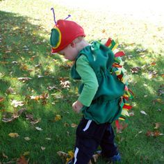 How To | Very Hungry Caterpillar Costume