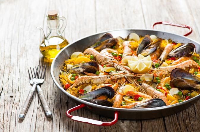 Mediterranean Cooking Class in Barcelona What better way to try food that the locals eat, than learning to cook it from a local? This 3.5-hour cooking workshop in Barcelona provides you with a unique way to learn some of the techniques and recipes of the region. The class is led by a professional chef in a private home and includes 12 tapas tastings and an optional trip to the market for your ingredients.If the option is chosen, your tour begins with a stroll through La Boquer...