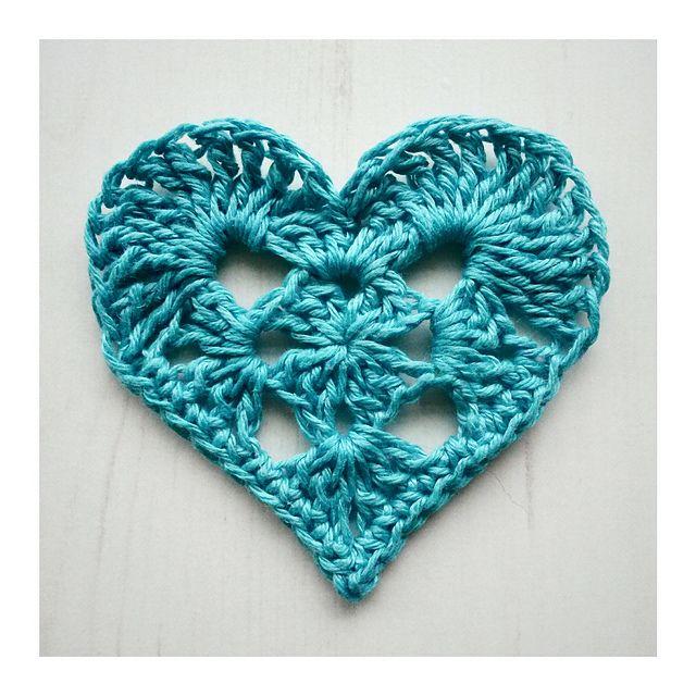 Ravelry: Granny Heart pattern by Crochet Tea Party