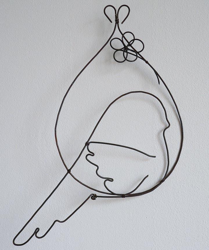 Oiseau bulle Plus d'infos, objet personnalisable sur www.by-adafe.com © Adafé by Fabienne Divina