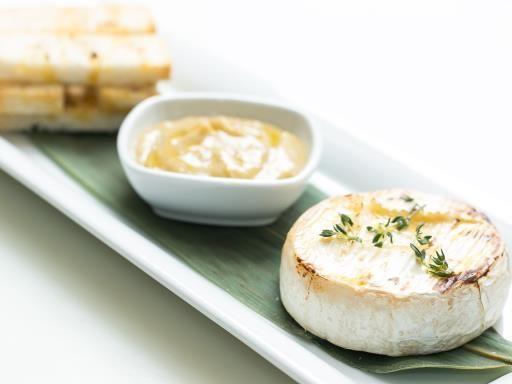 Camembert rôti au miel : Recette de Camembert rôti au miel - Marmiton