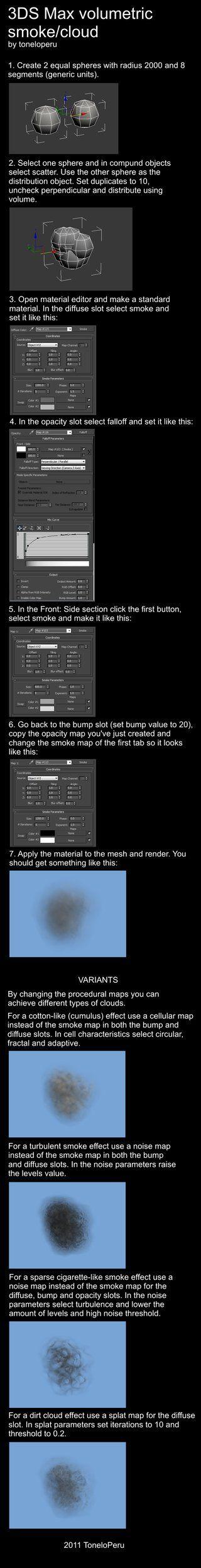 3ds max smoke tutorial by toneloperu