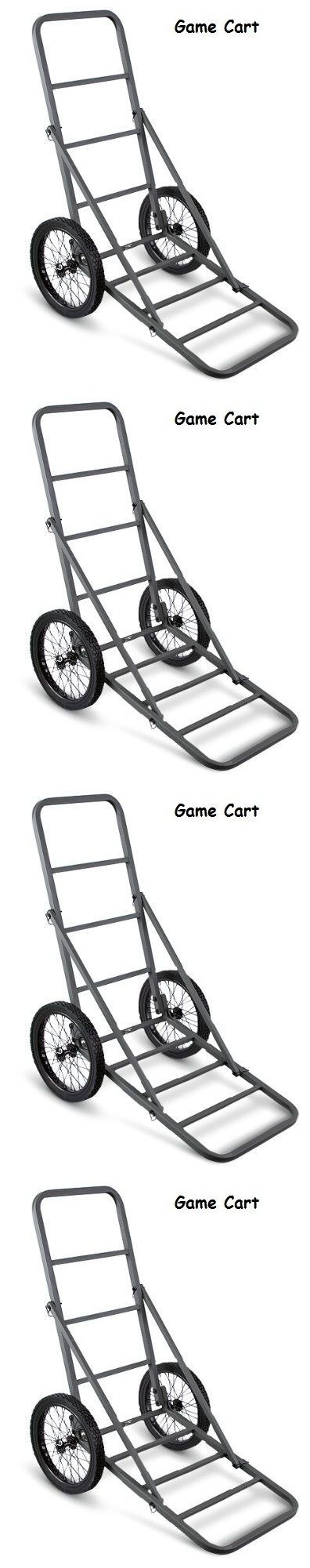 Game Carts Gambrels and Hoists 177888: Deer Cart Game Hauler Carts Hunting Supplies Cross Bow Tree Stands Blinds New BUY IT NOW ONLY: $74.89