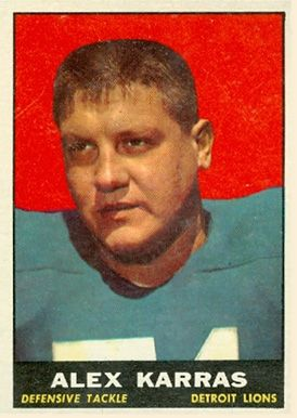 alex karras football card | 1961 Topps Alex Karras #35 Football Card