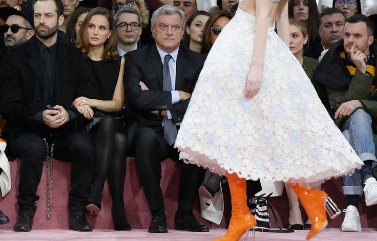 Fearless France: the muse of Paris couture - (REUTERS/Gonzalo Fuentes).