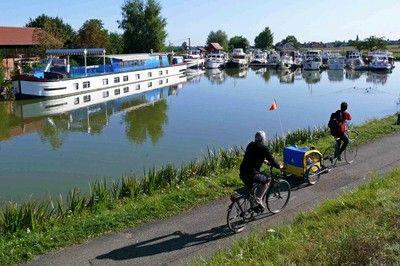 Le canal du Rhône au Rhin en vélo de Bâle à Montbéliard - EuroVelo 6