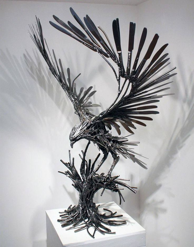 Recycled Metal Animal Sculpture                                                                                                                                                                                 More