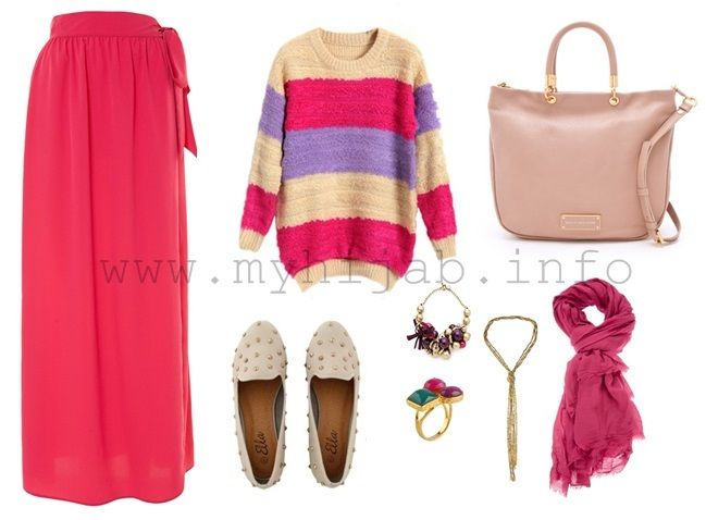 Pinky Outfit Idea – Hijab Inspiration