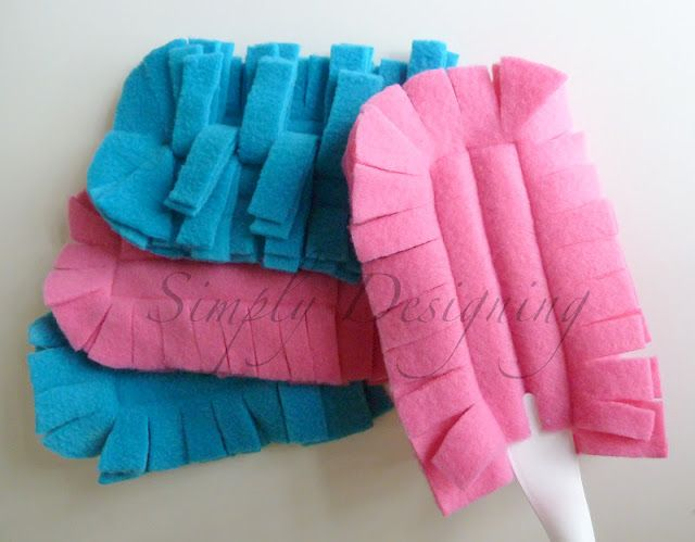 DIY Reusable Swifter Duster Cover - these are really simple to make, are a LOT cheaper, and work better!