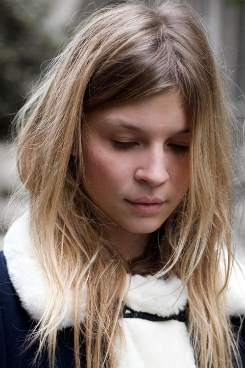 Clemence Poesy, epitomizing effortless cool - In the heart of winter | Garance Doré