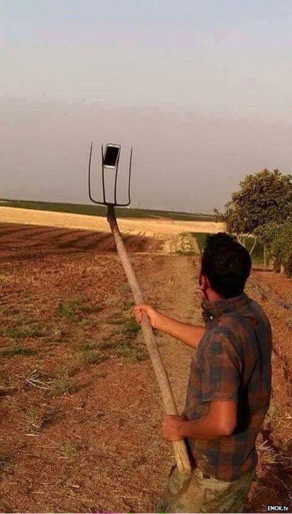 les agriculteurs se mettent aux selfies, est une image drôle publiée le 6 Septembre 2015 par pat22. Que pensez-vous de cette image drole insolite ?