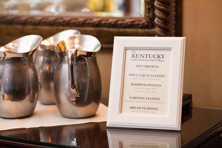 The Kentucky Menu!  #kentucky #menu #weddingmenu #weddingfood #reception #weddingreception #wedding #food #love #wedo #marriage #married #photography #weddingphotography #seattleweddingphotographer  http://anabellaphotography.blogspot.com/